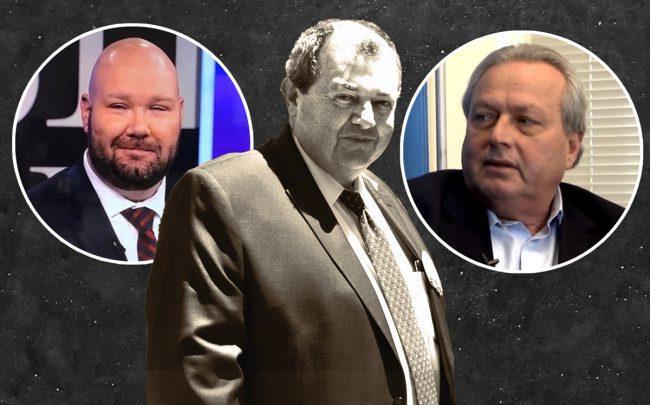 From left: CHIP's Jay Martin, REBNY's Jim Whelan and RSA's Joe Strasburg
