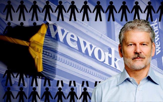 WeWork Co-CEO Sebastian Gunningham (Credit: Getty Images, Twitter, iStock)