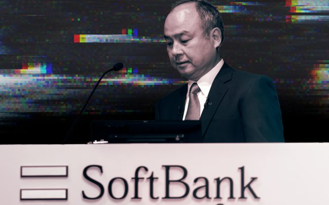 Softbank CEO Masayoshi Son (Credit: Getty Images)