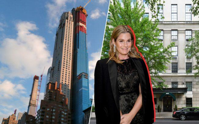 220 Central Park South and 960 Fifth Avenue with Aerin Lauder (Credit: Getty Images, Warburg Realty)