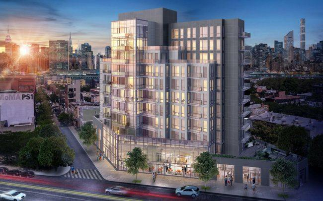 A rendering of 22-43 Jackson Avenue (Credit: StreetEasy)
