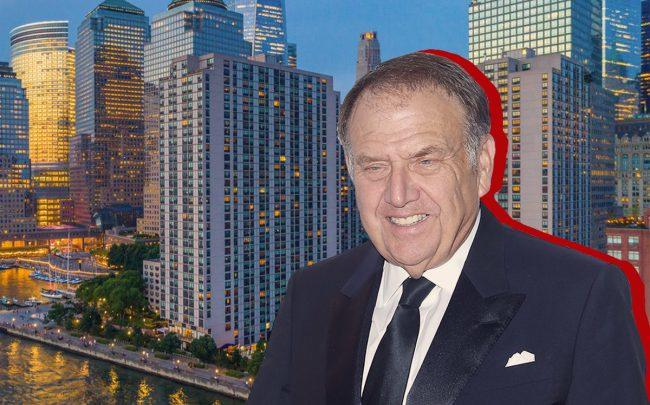 Gateway Plaza and Richard LeFrak (Credit: Getty Images)