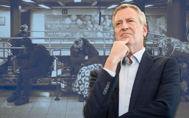 Mayor Bill de Blasio will ask developers to house the homeless (Credit: Getty Images, iStock)