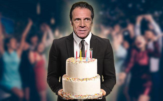 According to a lobbyist, the REBNY is not planning to attend Governor Andrew Cuomo's birthday party (Credit: Getty Images, iStock)