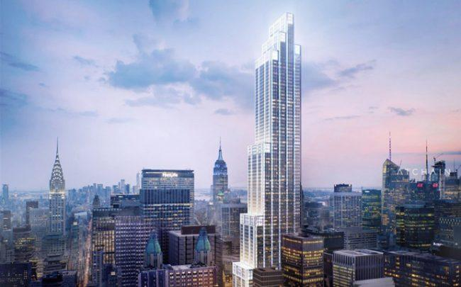 A rendering of 270 Park Avenue (Credit: ATCHAIN)