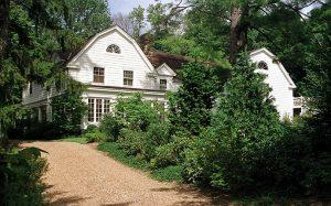 The Clintons' Chappaqua home (Credit: Getty Images)