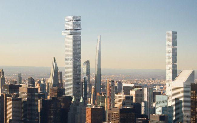 A rendering of Tower Fifth (Credit: New York Times)