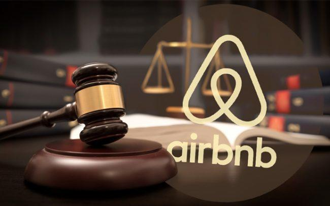 Airbnb won court case over French real-estate rules (Credit: Airbnb and iStock)