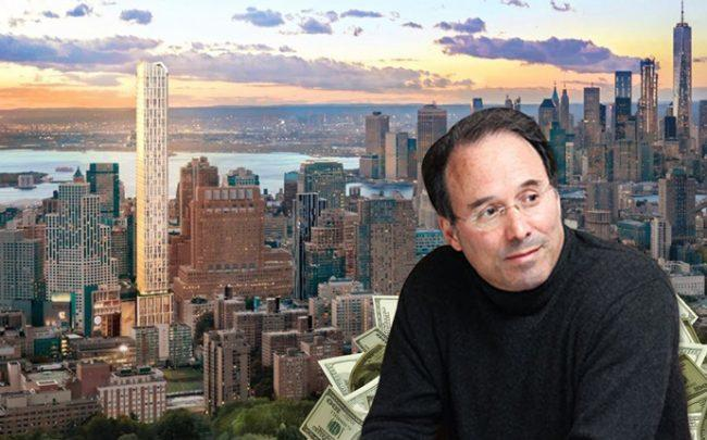 Brooklyn Point at 138 Willoughby Street and Extell Development's Gary Barnett (Credit: Alistair Gardiner for The Real Deal)