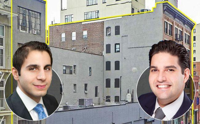 From left: Daniel Shirazi, and Robert Khodadadian, with 530 West 25th Street
