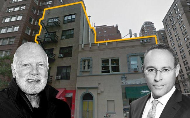 Steve Roth and Miki Naftali with 1167 Madison Avenue and 50 East 86th Street (Credit: Google Maps)