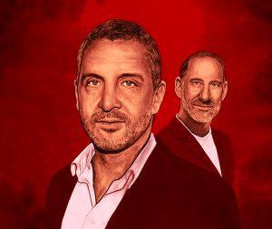 The Agency's Mauricio Umansky (left) and Billy Rose (Illustration by Zach Meyer)