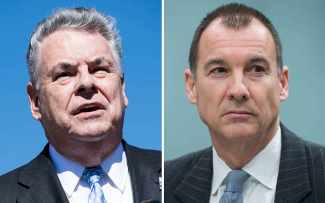 Rep. Peter King and Rep. Tom Suozzi