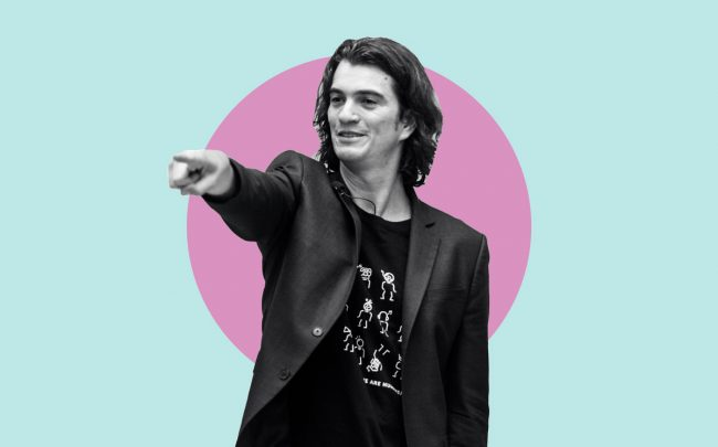 Adam Neumann (Credit: Getty Images)