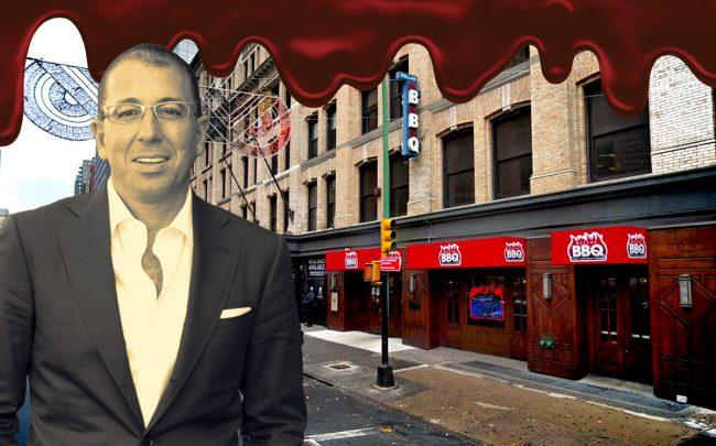 Thor Equities' Joe Sitt and 180 Livingston Street (Credit: Google Maps, iStock)