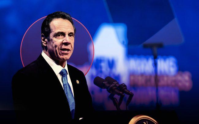 Governor Andrew Cuomo delivers his 2020 State of the State Address to the Legislature (Credit: Governor's Office via Flickr)