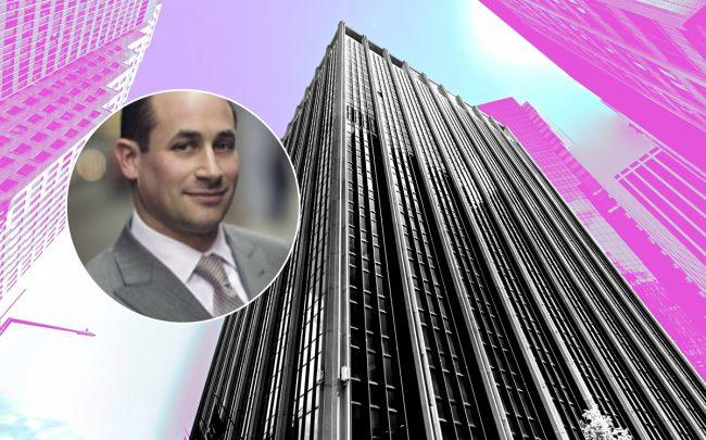 Nightingale's Eli Schwartz and 111 Wall Street (Credit: Google Maps)