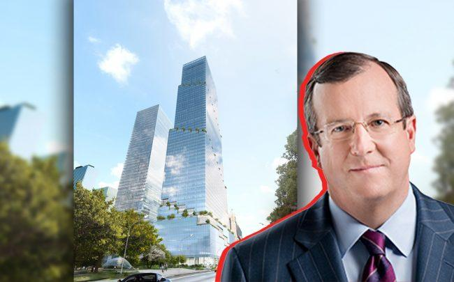 The Spiral and Debevoise presiding partner Michael W. Blair (Credit: Tishman Speyer)