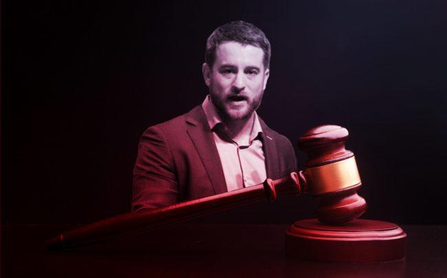 Housing Rights Initiative's Aaron Carr (Credit: iStock, Facebook)