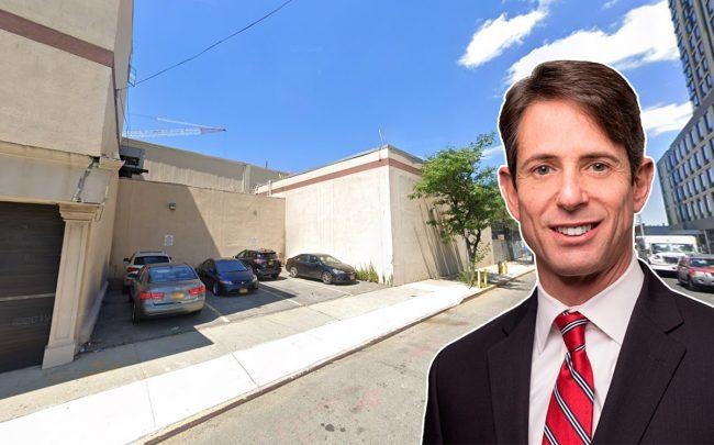 147-07 94th Avenue in Jamaica and Pheonix Realty Group president Keith Rosenthal (Credit: Google Maps)