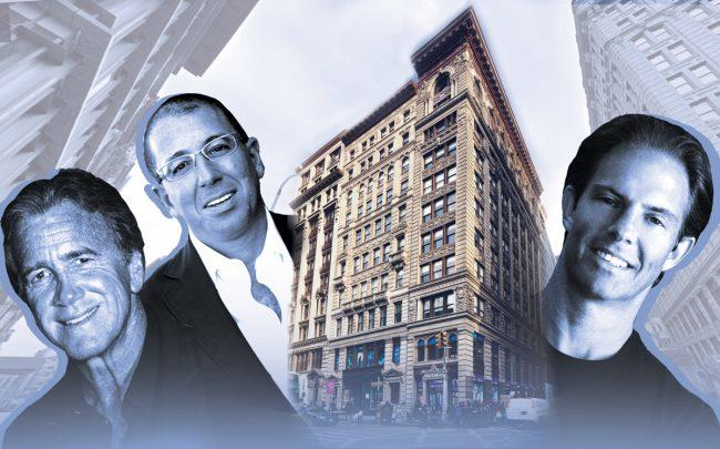 Wharton Properties' Jeff Sutton, Thor Equities' Joe Sitt, 530 Broadway and Michael Shvo