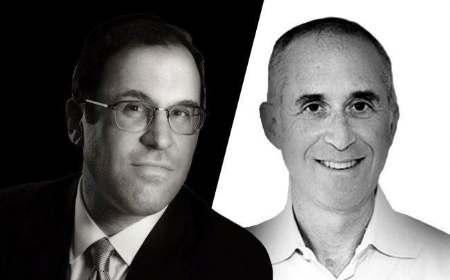 Actovia CEO Jonathan Ingber and CrediFi CEO Eli Razin (Credit: LinkedIn)