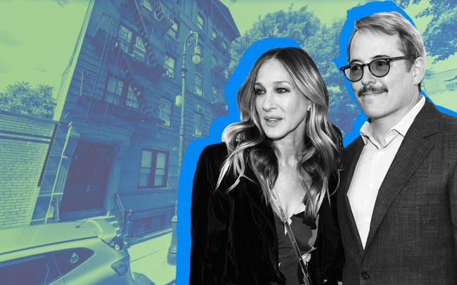 Sarah Jessica Parker and Matthew Broderick's townhouse is on Charles Street (Credit: Getty Images, Google Maps)