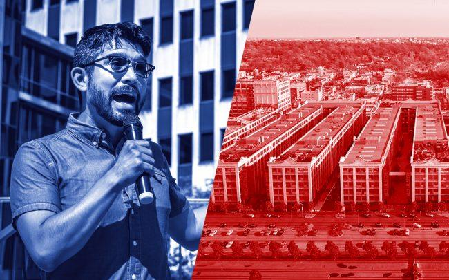 New York City Councilmember Carlos Menchaca and Industry City (Credit: Getty Images, Industry City)