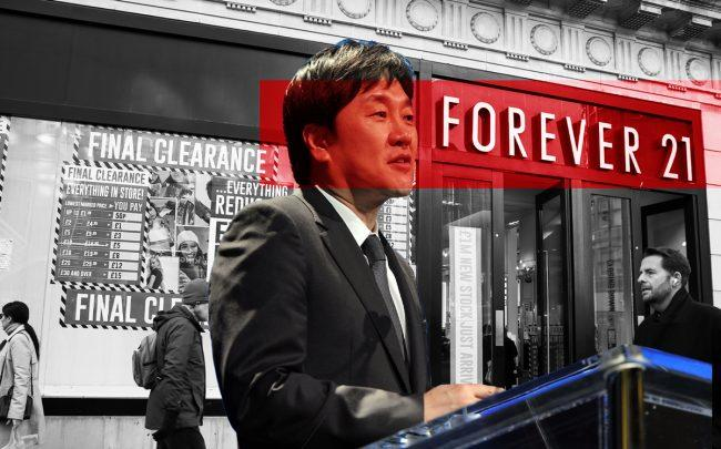 Forever 21 CEO Do Won Chang (Credit: Getty Images)