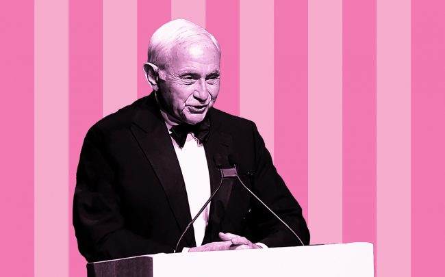 Leslie Wexner (Credit: Getty Images)