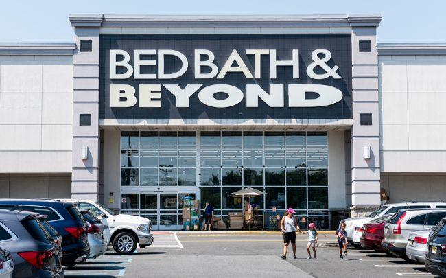 Bed Bath & Beyond (Credit: Getty Images)