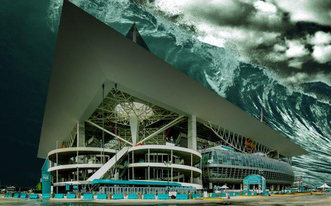 Hard Rock Stadium in Miami (Credit: HOK Studio)