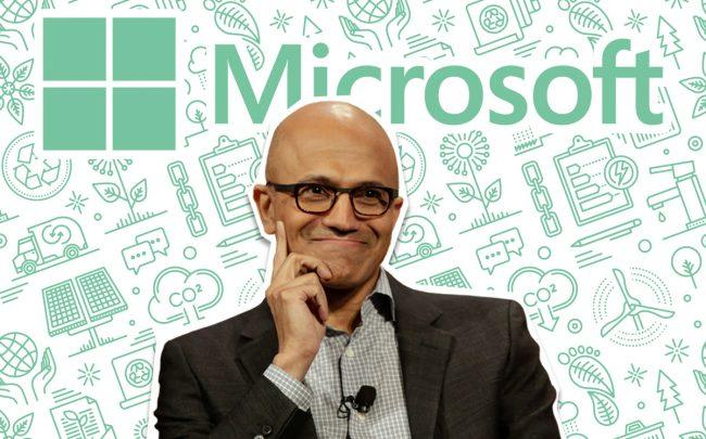 Microsoft CEO Satya Nadella (Credit: Getty Images and Microsoft)