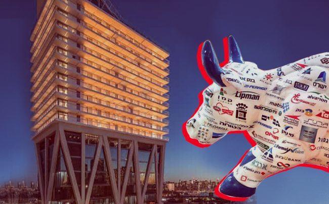 The Tel Aviv Stock Exchange bull and the William Vale