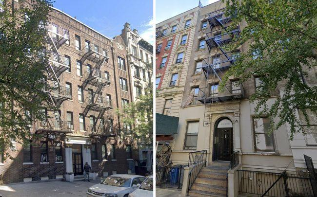 111-115 West 141st Street and 148 West 141st Street (Credit: Google Maps)