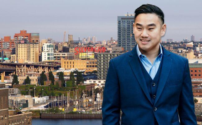 Michael Wang and Long Island City (Credit: iStock)