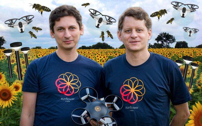 Sunflower Labs founders Alex Pachikov and Christian Eheim (Credit: Wikipedia, Pixabay)