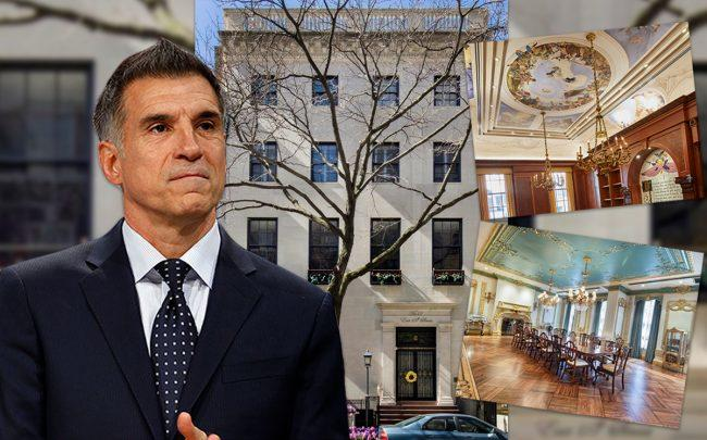 Vincent Viola and 12 East 69th Street (Credit: Getty Images)