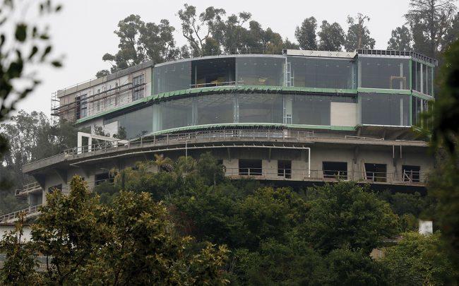 Hadid's Strada Vecchia project (Credit: AP)