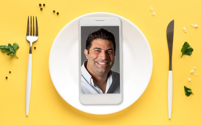 Kitopi CEO Mohamad Ballout (Credit: Kitopi and iStock)