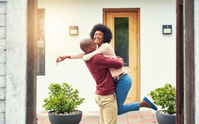 Home buyers have for decades been advised to never put a less than 20 percent down payment on a house, but 70% of young home-buyers are willing to break that rule this year (Credit: iStock)