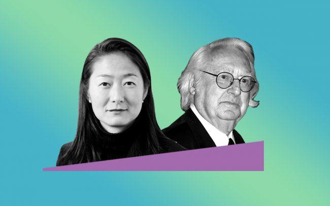 Vivian Lee and Richard Meier (Credit: RMP, Wikipedia)