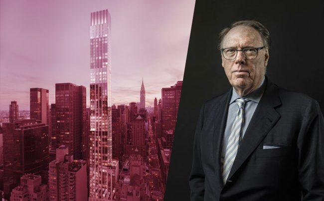 Centrale at 138 East 50th Street and Ceruzzi Properties' Arthur Hooper (Hooper by Sasha Maslov)