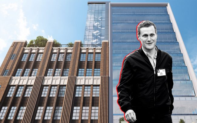 The Wheeler at 181 Livingston Street with Tishman Speyer's Rob Speyer (Credit: The Wheeler, Getty Images)