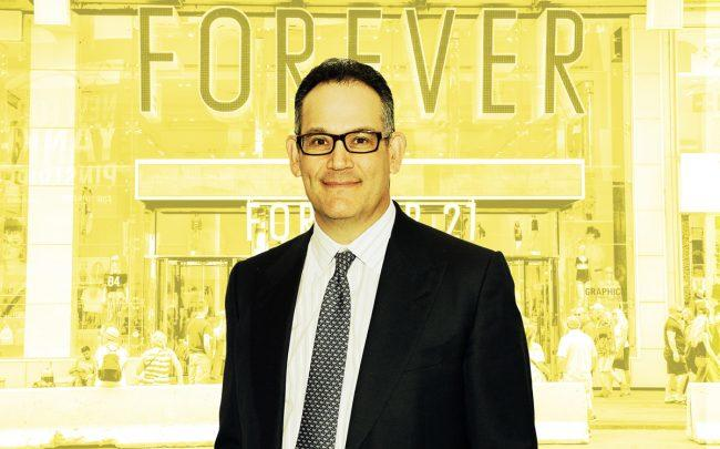 Simon Property CEO David Simon and Forever 21 (Credit: Getty Images)