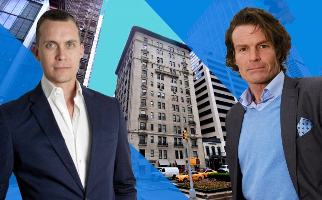 From left: GDSNY CEO Michael Kirchmann, 417 Park Avenue and Klövern CEO Rutger Arnhult (Credit: Google Maps)