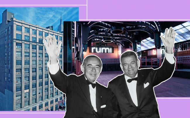 229 West 28th Street with Rodgers & Hammerstein (Credit: Getty Images, 229nyc, Rumi)