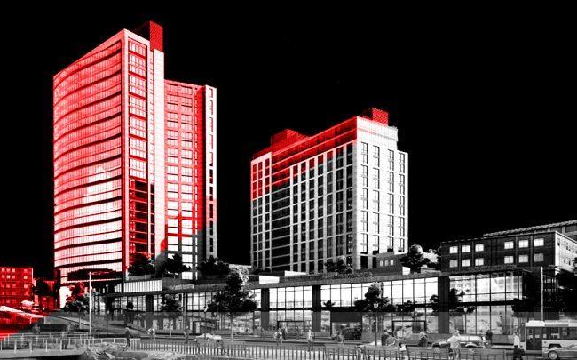 Larkin Plaza (Credit: Rendering courtesy of SLCE Architects)