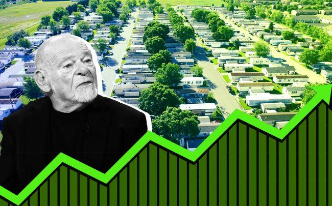 Sam Zell of Equity Group Investments (Credit: Getty Images)