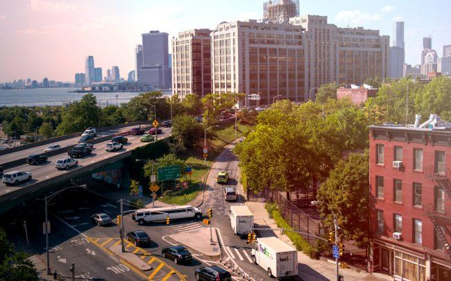 Renovations plans for the BQE would give nearby real estate a big boost, sources say. (Credit: Getty Images)